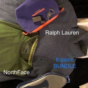 Other - Ralph Lauren NorthFace Men's Bundle